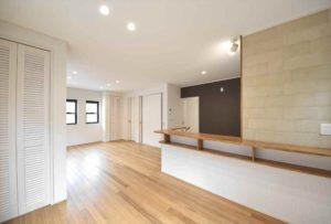 空間を生かしたデザイン豊かなお家